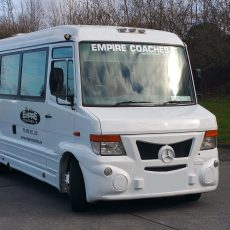 Mini bus hire dublin