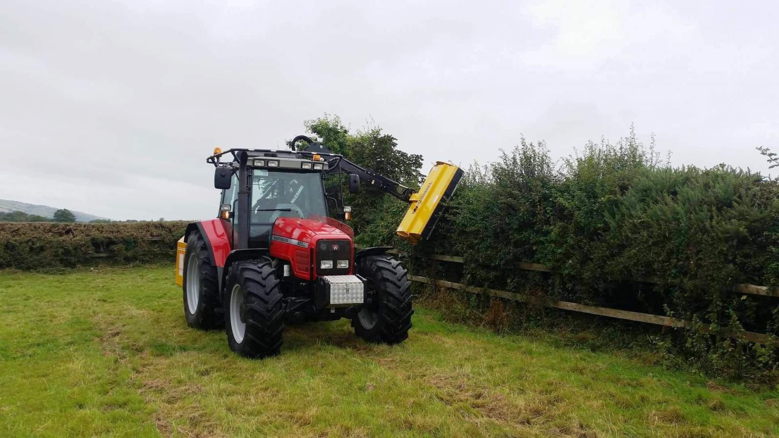 hedge-cutting
