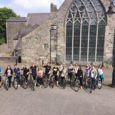 historical bike ride