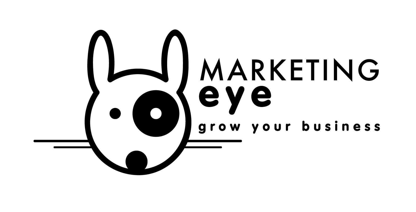 marketing eye logo