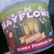 Gluten Free Mayflower Curry Sauce