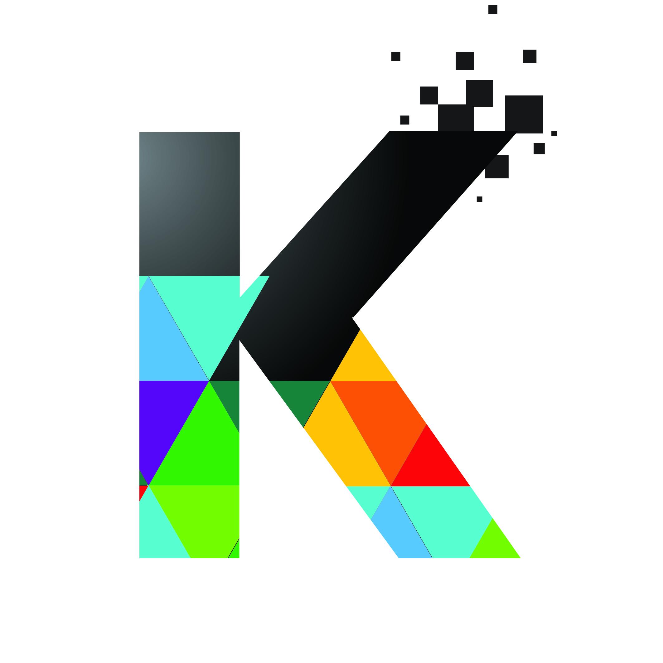 K Print Logo