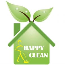 logo happy clean